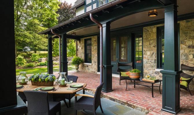 New House Wayne Traditional Porch Philadelphia
