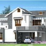 New Kerala Homes Model House Plans Models Home Single
