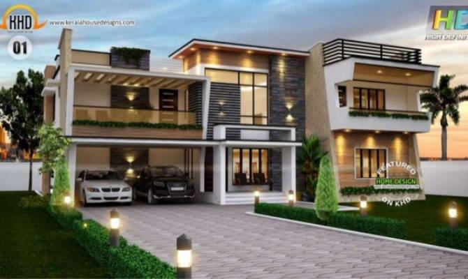 New Kerala House Plans September