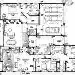 New Large One Story House Floor Plans Plan