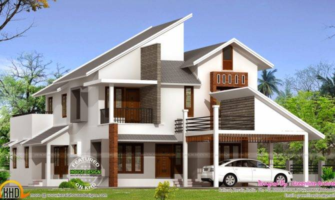New Modern House Plan Kerala Home Design Floor Plans
