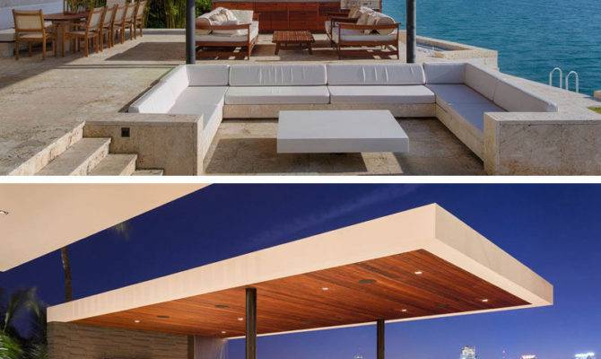 New Modern Waterfront Home Arrives Miami Contemporist