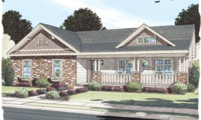 New Oxford Simplex Modular Homes Ranch Floorplan