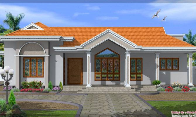New Single Floor House Design
