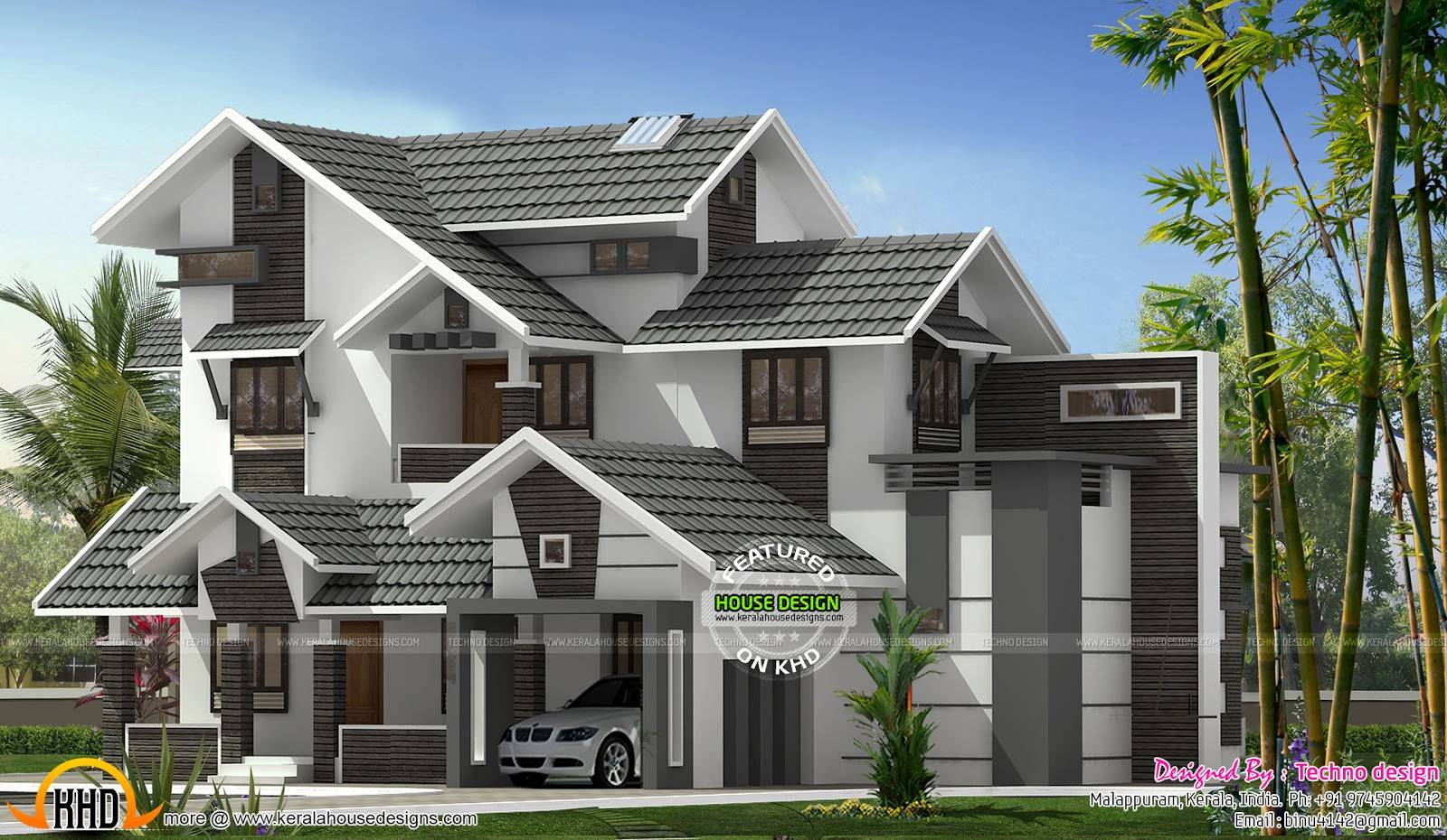 25 Sloping Roof House Designs Ideas Home Plans Blueprints