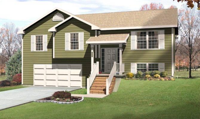 New Split Level House Plans Walkout Basement Home