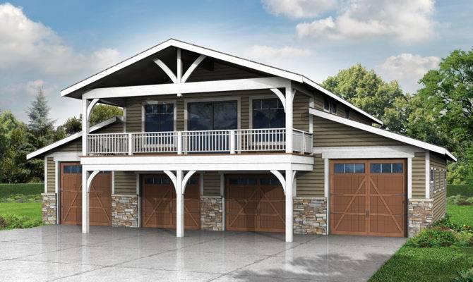 New Story Garage Plan Recreation Room Associated Designs