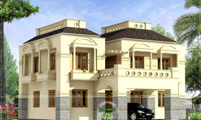 New Style Bhk House Home Kerala Plans