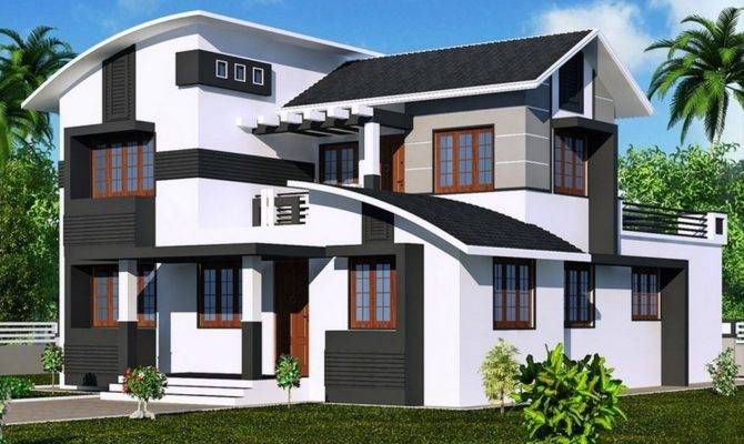 New Style Home Plans Kerala