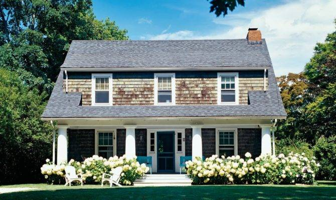 Newlywed Diaries Hydrangea Cedar Shingles Perfection