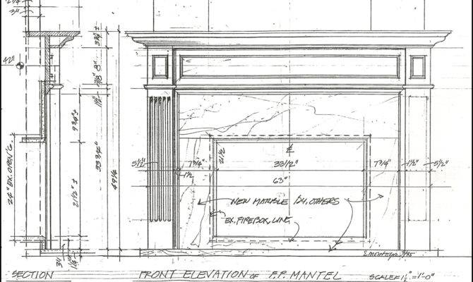 Newport Mantels Panel Company Custom Fireplace Orange