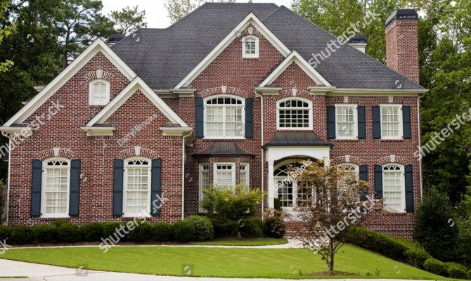 Nice Brick Two Story House