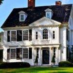 Nice Classic Colonial Homes Traditional House Plans