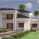 Nice Clean Villa Elevation Exterior Kerala Home Design Floor
