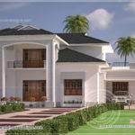 Nice Clean Villa Elevation Exterior Kerala Home Design Floor