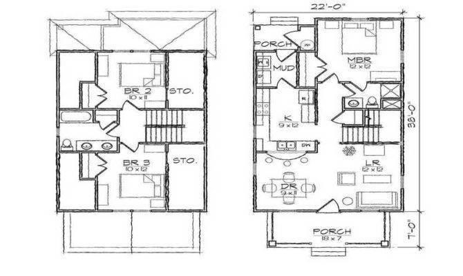 Nice Floor Plans Garage Apartment Plan