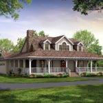 Nice House Plans Wrap Around Porch Country