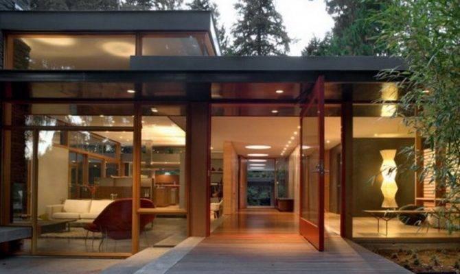 Nice Little Modern Home Woods Minecraft Project
