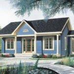 Nice Little Starter Home Hwbdo Bungalow Builderhouseplans