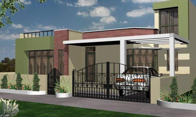 Nice Modern House Exterior Designs Home