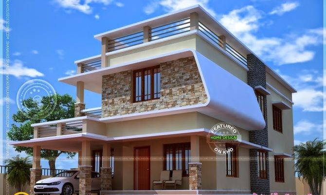 Nice Modern House Floor Plan Kerala Home