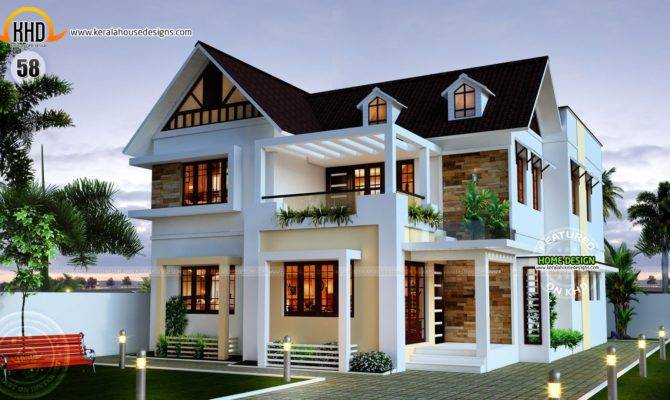 Nice New Home Plans Kerala House Design