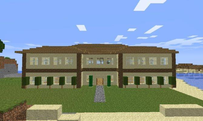 Nice Ranch House Minecraft Project