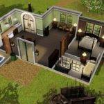 Nice Sims Mansion Floor Plans Decorating Home Ideas