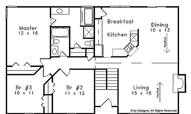 Nice Split Foyer House Plans Open Floor