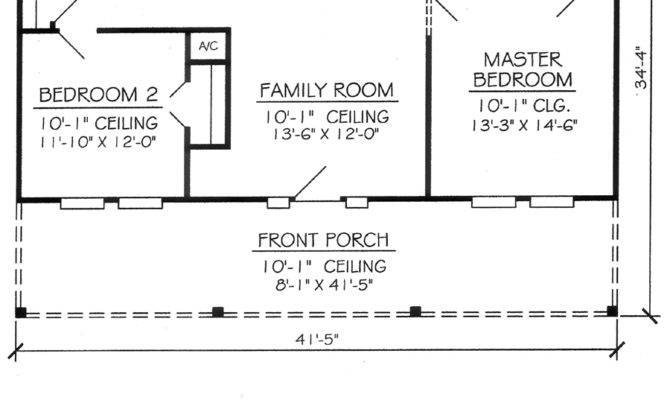 Nice Two Bedroom House Plans Bathroom