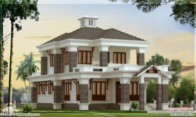 Nicely Designed Bedroom Villa Green Arch Kozhikode Kerala