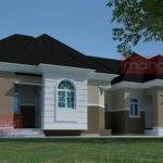 Nigerian Residential Architecture Bedroom Semi Bungalow