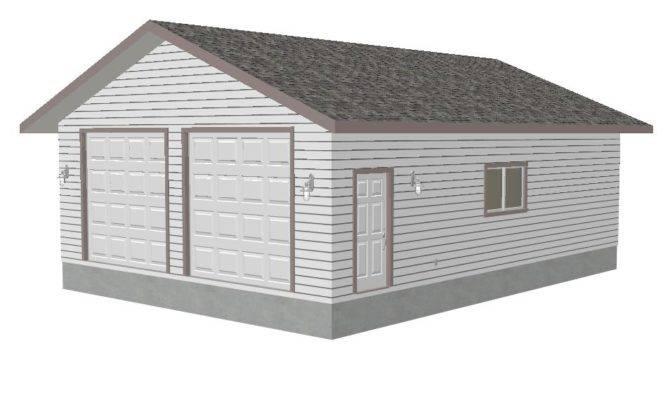 Nitzel Detached Garage Sds Plans