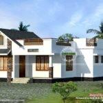 North Facing Vastu Home Single Floor Kerala Design