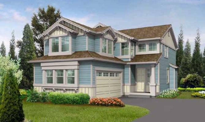 Northwest Style House Plans Plan