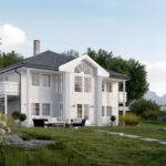 Norwegian House Project Dstudija
