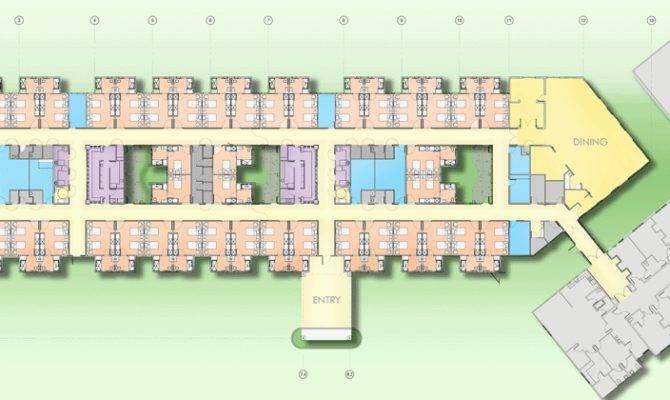 Nursing Home Design Sonora Rehabilitation Care Center