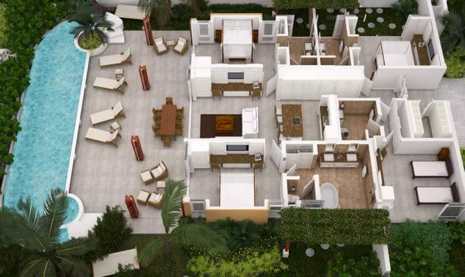 Ocean Views New Open Plan Beach House Concept Houses
