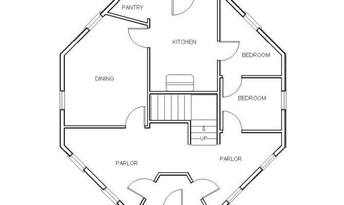 Octagon Home Plans Smalltowndjs