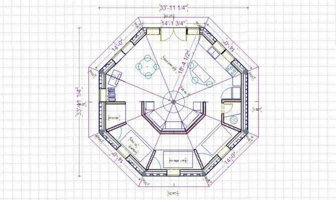 Octagon House Floor Plan Curiousity Eight Sided