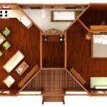 Octagonal Floor Plans Teak Bali