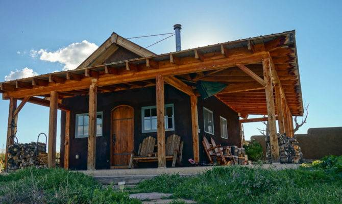 Off Grid Straw Bale Homestead Colorado Small House Bliss