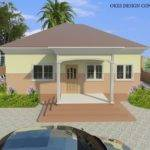 Okes Design Consult Home Three Bedroom Two Bungalow
