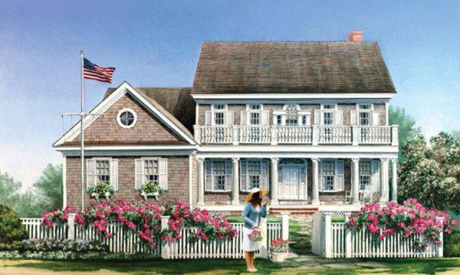 Old Colonial Style House Plans Design Planning Houses