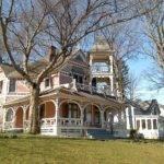 Old Country Farmhouse Interior Home Bay