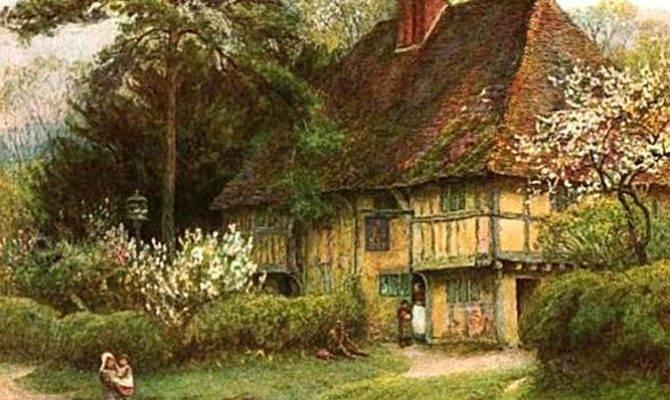 Old English Cottage Plans Home Decor Interior Design