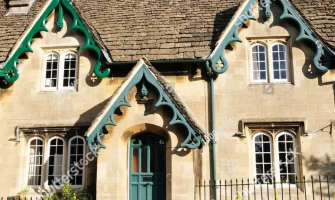 Old English Stone Cottage House Built