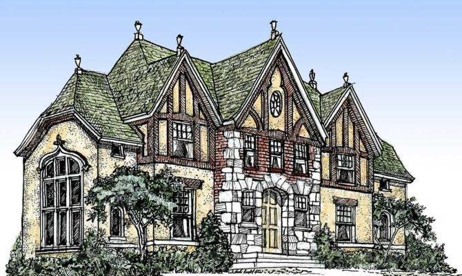 Old English Tudor House Plans