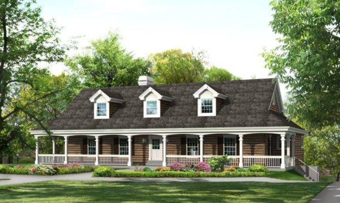 Old Farmhouse Plans Wrap Around Porches