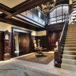 Old World Style Manor Interior Foyer Sceneries Pinterest
